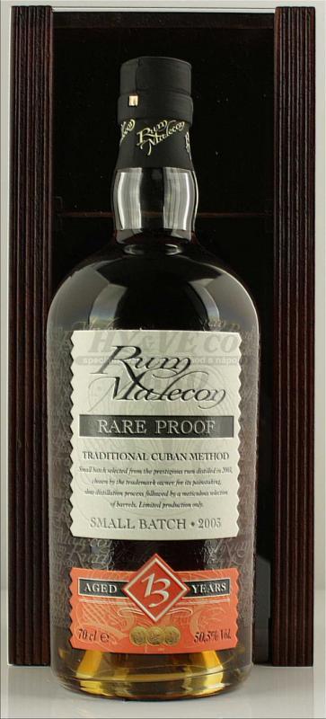 Rum Malecon 13yo Rare Proof Box