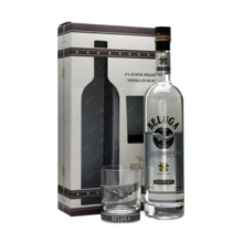 BELUGA Noble Vodka 1L 40% + sklo