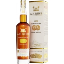 A.H. RIISE 1888 COPENHAGEN GOLD MEDAL RUM 40%