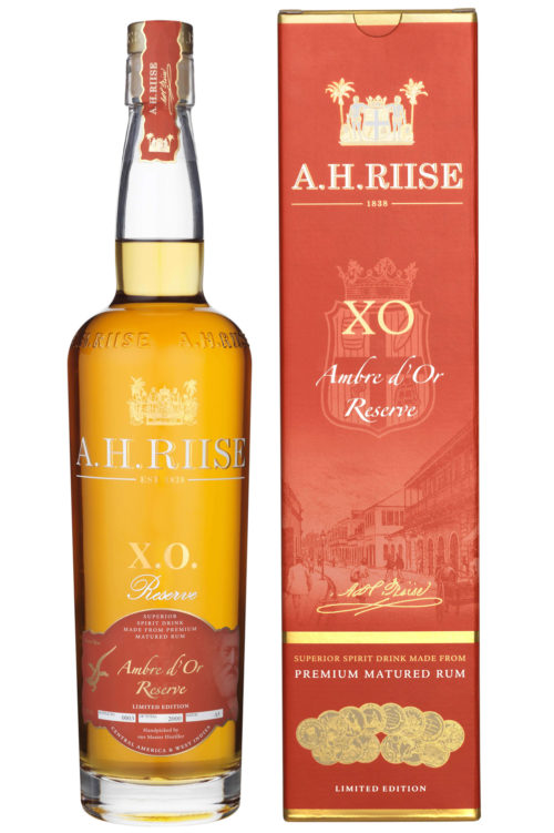 A.H. Riise XO Ambre d`Or Reserve Rum