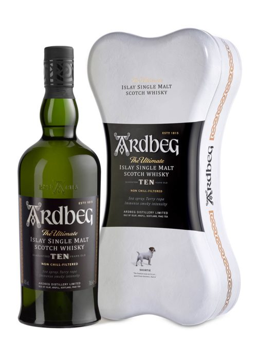 ARDBEG 10Y BONE Pack 070 46%