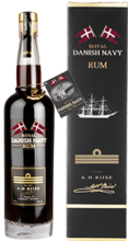 A.H. RIISE ROYAL DANISH NAVY RUM 0,7l 40%