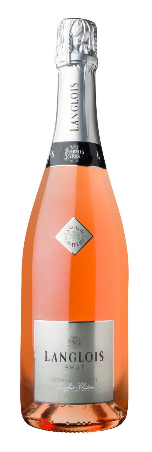 Crémant de Loire rosé brut Langlois Chateau 0,75