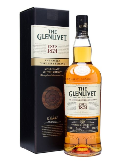 GLENLIVET MASTER DIST.RES. 1824 LTR 40%