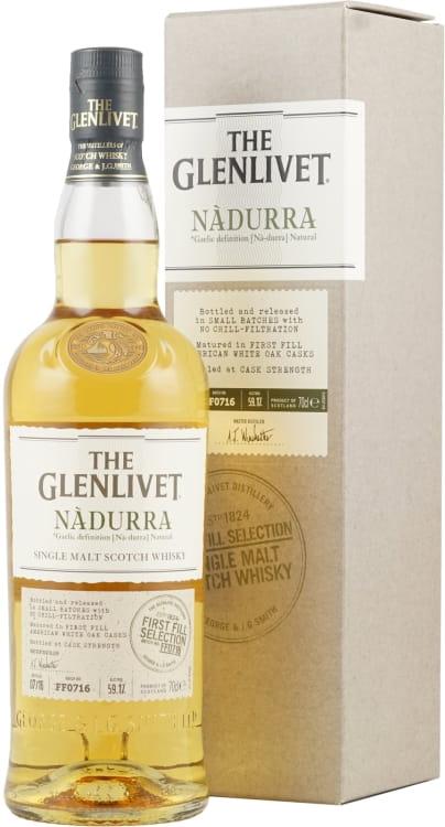 GLENLIVET NADURRA First Fill Sel. 070 59,1%