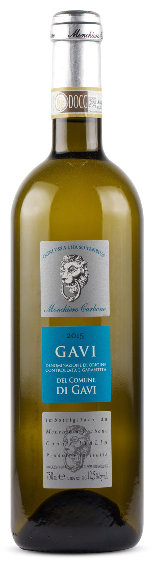 GAVI DEL COMUNE DI GAVI 2018 DOCG MONCHIERO CARBONE 0,75
