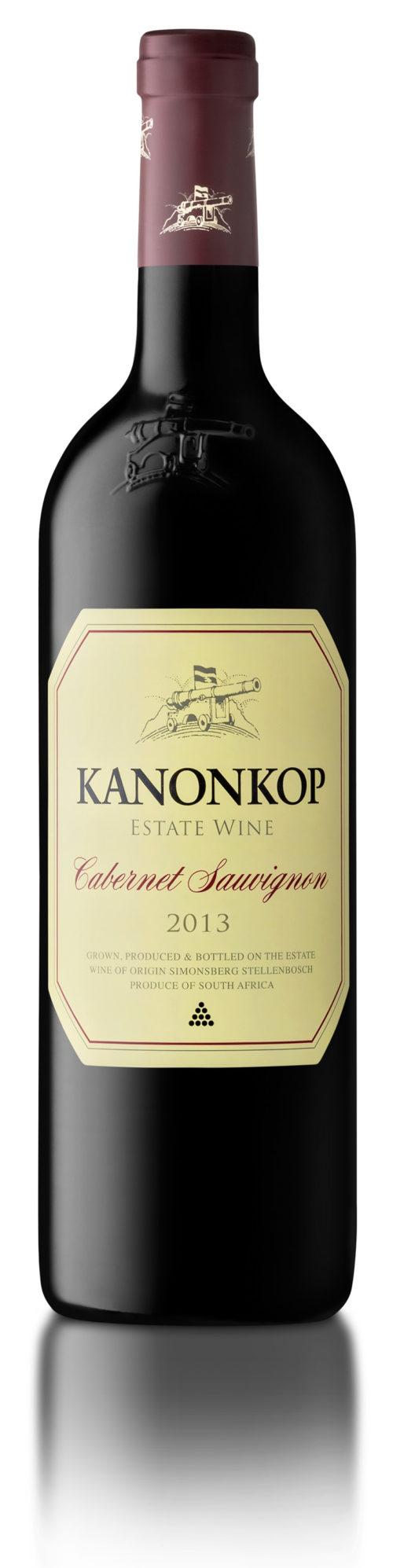 CABERNET SAUVIGNON 2013 KANONKOP 0,75