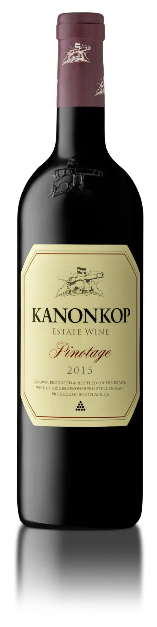 PINOTAGE 2015 KANONKOP 0,75