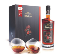 MALTECO 20YO RESERVA DEL FUNDADOR 0,7l 40% + 2x sklo
