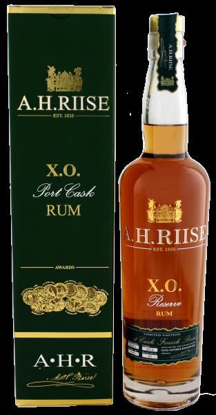 A.H. Riise XO Reserve Port Cask Rum