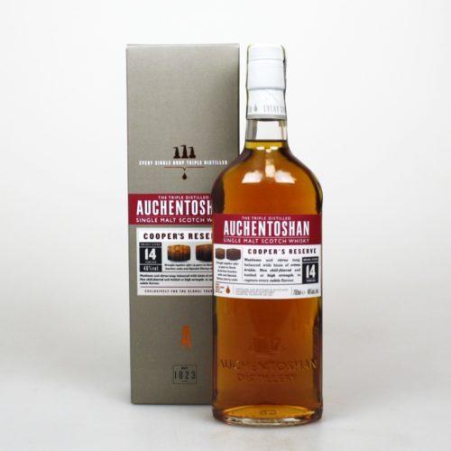 AUCHENTOSHAN 14Y COOPER´S RES. 070 46%