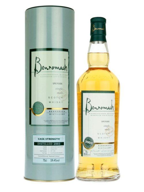 BENROMACH 2003 Cask Str. 070 59,4%
