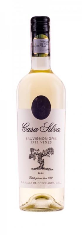 Sauvignon Gris 2017 CASA SILVA 0,75