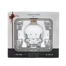 CRYSTAL HEAD VODKA 0,7l 40% + sklo