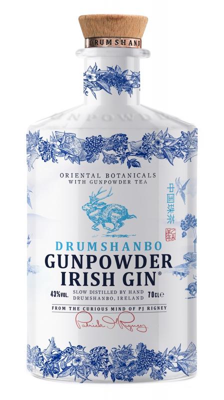 gunpowder irish gin ceramic 0,7l
