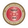 Trofej HK IWSC Best rum 2020
