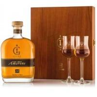 Grappa Marzadro Le Giare Amarone 0,7l 41% + 2x sklo