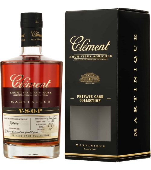 Clément V.S.O.P. Private Cask Collection box
