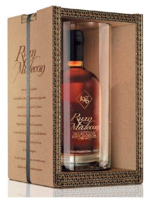 Rum Malecon 1976 Selleción Esplendida box