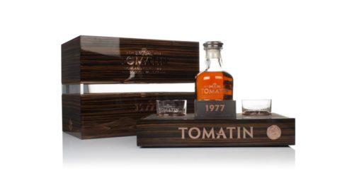 Tomatin 1977 skotská single malt whisky