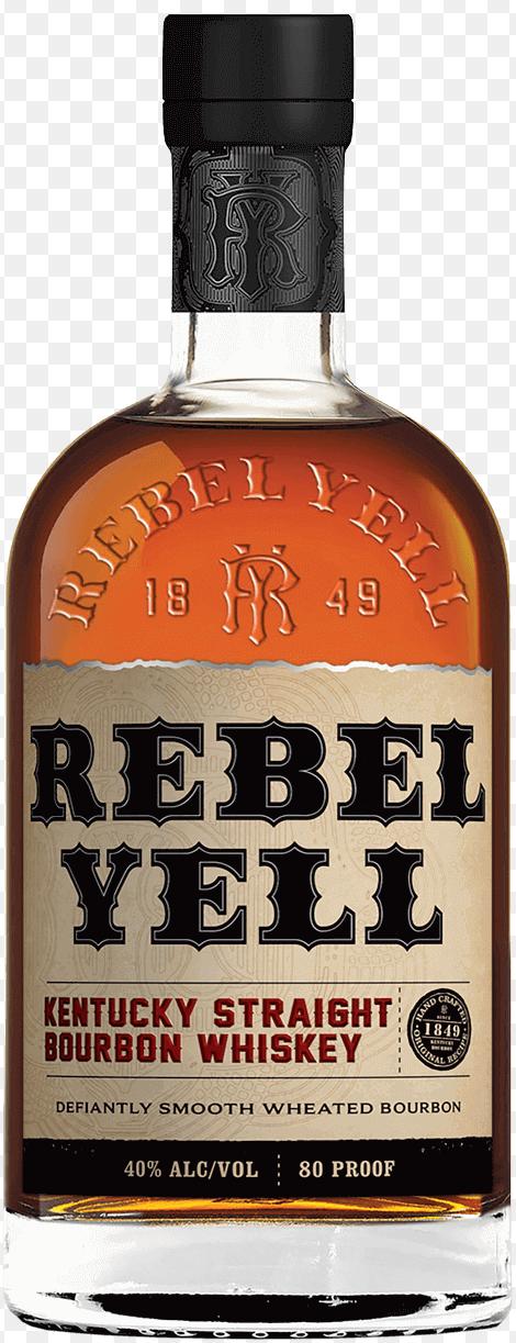 Rebel Yell Kentucky Straight Bourbon 1L - ilustrační obrázek