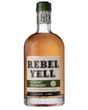 REBEL YELL Straight Rye Whiskey 0,7l 45%