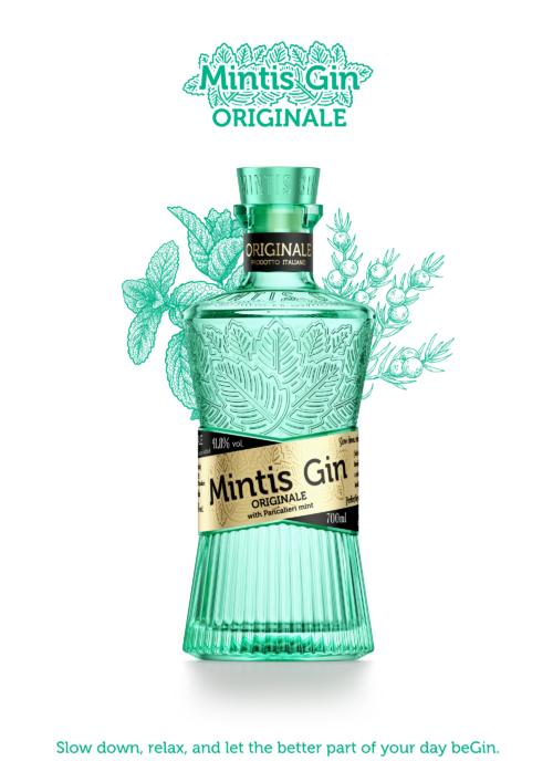 MINTIS ORIGINALE + 4x Sanpellegrino Tonic ZDARMA 070 41,8%