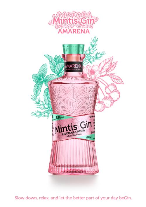 MINTIS AMARENA + 4x Sanpellegrino Tonic ZDARMA 070 41,8%