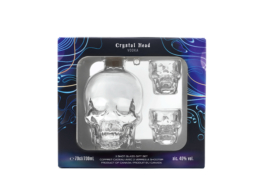 CRYSTAL HEAD + 2 skleničky 070 40%