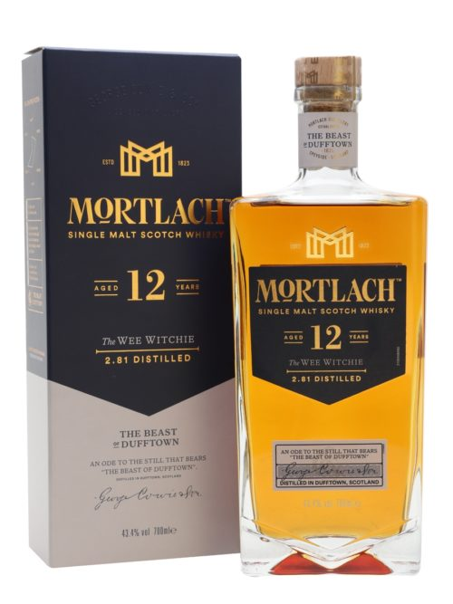 MORTLACH 12Y The WEE WITCHIE 070 43,4%